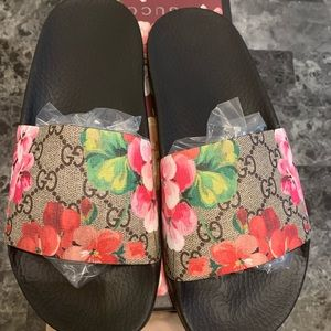 Authentic Gucci Blossom Slides